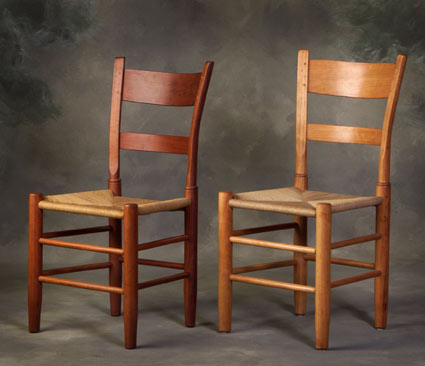 Handmade Solid Cherry Chairs