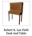 Robert E. Lee Field Desk And Table