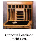 Stonewall Jackson Field Desk