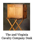The 2nd Virginia Cavalry Company Desk