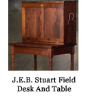 J.E.B. Stuart Field Desk And Table